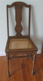 Antique desk chair (Set of 4 pieces)