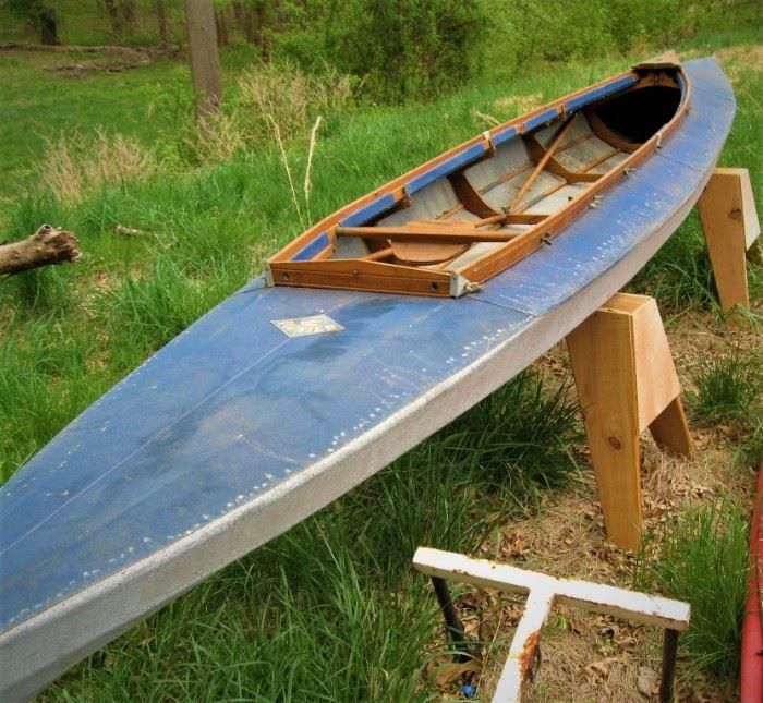 Keppler Style folding kayak with sails. 50 years old. Unusual