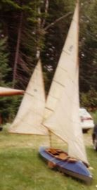 Klepper Style kayak with sails