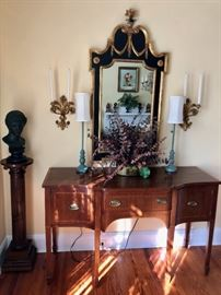 Beautiful inlaid English buffet !!