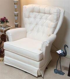 011 Upholstered Arm Chair Rocker