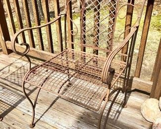 Shabby Chic Vintage set of chairs