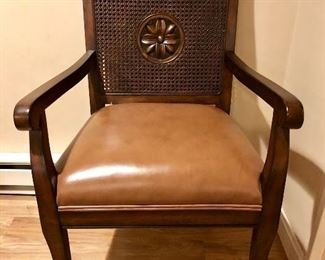 Chair with Leather cushion