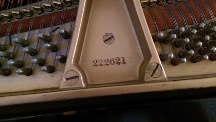 1923 Steinway Model M Grand. Rebuilt by Steinway in 1970.