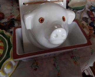 WALL PIG