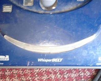 WHISPERBELT VAC