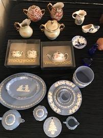 Vintage Wedgewood tea sets