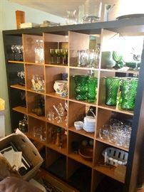 Huge assortment of interesting glassware