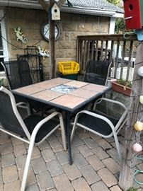 This is the other table set for sale