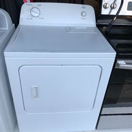 White Roper 6.5-cu ft Electric Dryer