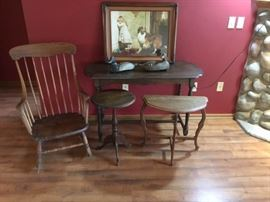 Country Furniture Lot