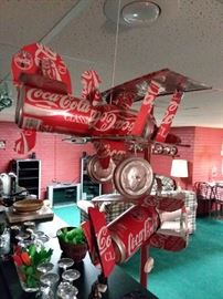 Planes Made out Real Coca Cola Tin Cans!