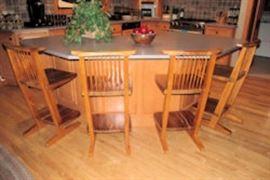 cantalevered bar stools