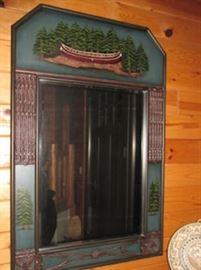 x decorative wall mirror