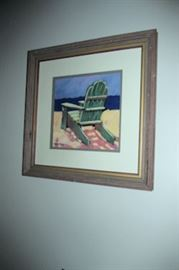 x framed adirondak chair
