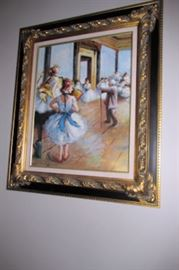 x framed ballet class