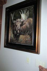 x framed moose