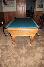 x pool table