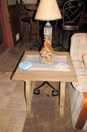 x stone bird house lamp