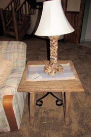 x stone lamp
