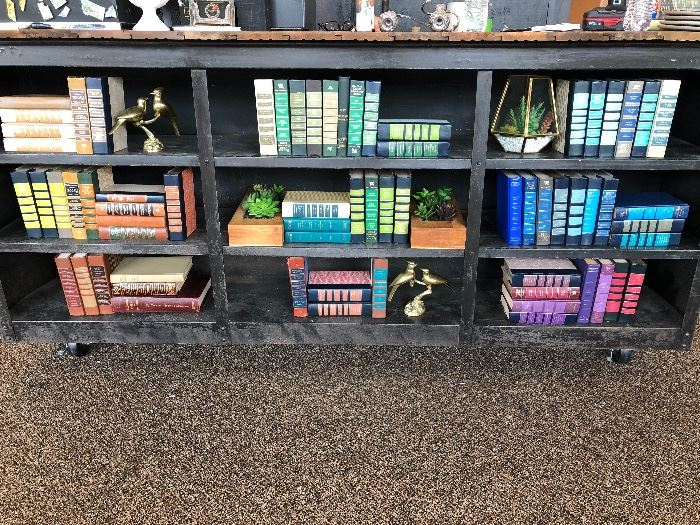 Lots of books- great for display and decor
