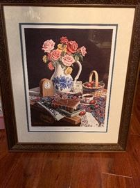 Dempsey Essick Print Made for the 100th Anniversary of the Lexington Telephone Company