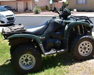2005 Suzuki Vinson Quad