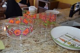 Floral Dishes