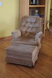 Arm Chair, Ottoman