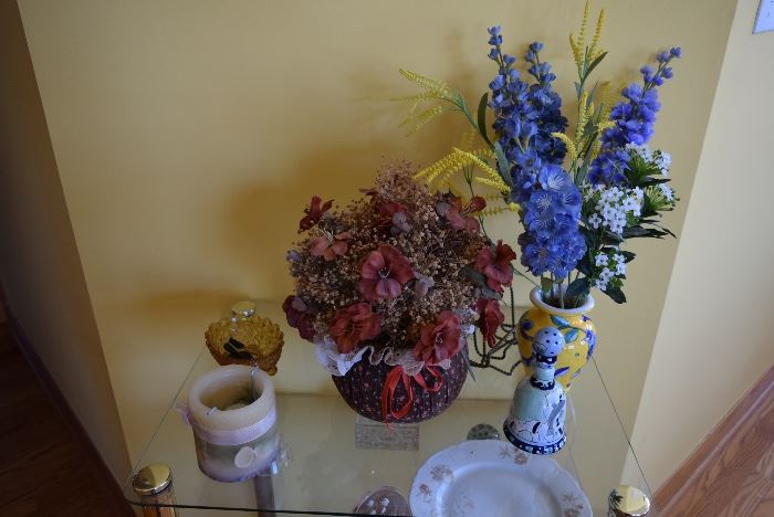 Silk Floral Arrangements, Home Decor