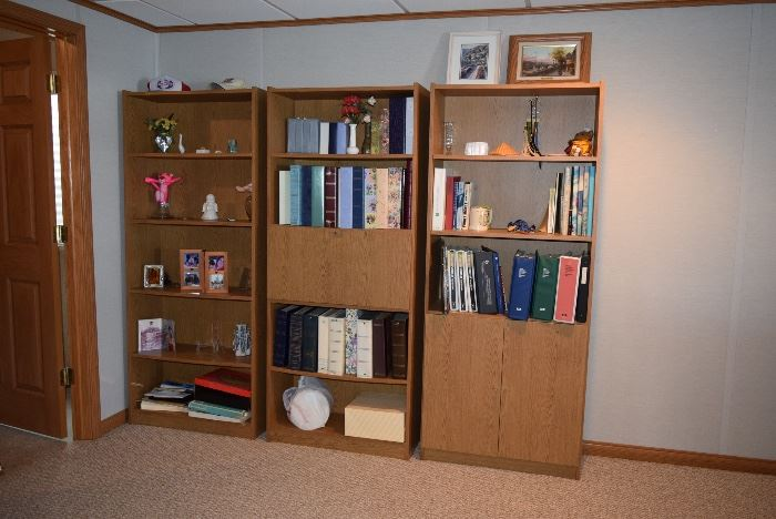 Shelving Unit, Photo Albums, Home Decor