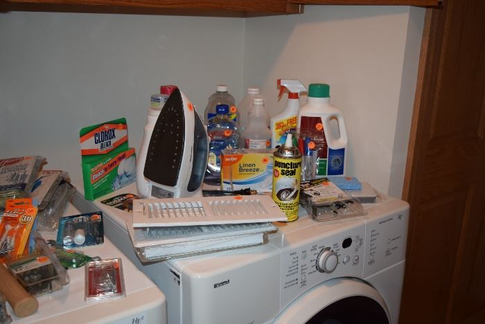 Household, Cleaning Supplies, & Iron