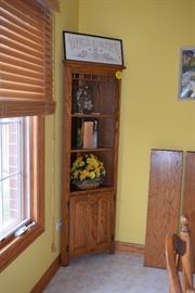 Corner Shelving Cabinet & Home Decor