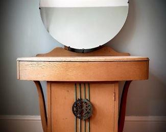 Art Deco period vanity dressing table