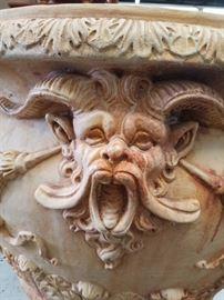 terracotta urns