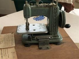 Betsy Ross Sewing Machine