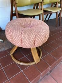 Heywood Wakefield poof stool