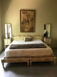 Hollywood Regency Bedroom Suite formerly owned by Silver Screen Star Jean Harlow