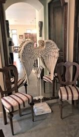 Set of 4 Chairs from the Estate of ex Texas Governor Allan Shivers