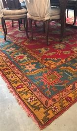 2 Large Area rugs approximately 12 x 12
