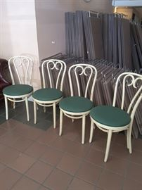 set of four very nice Bentwood chairs