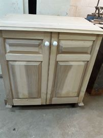 Handmade unfinished cabinets