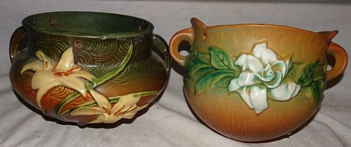 Collection of Roseville Pottery