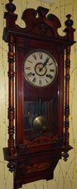 Sheffield Wall Regulator Clock