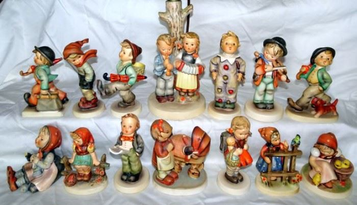 Hummel Figurines Including Full Bee