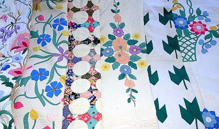 Over 20 Beautiful Handmade Quilts & Quilt Tops