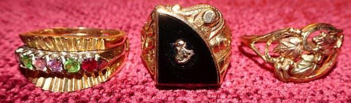 14K & 10K Gold Jewelry