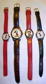 Disney Mickey & Minnie Watches