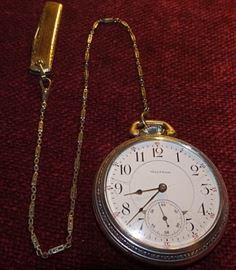 Waltham 21 Jewel RR Pocket Watch