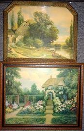 Art Deco Prints Incl. R. Atkinson Fox